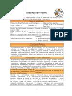 Sistematización Bloque III