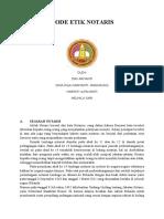 Kode Etik Notaris