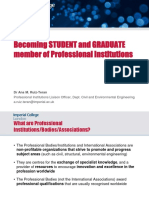 Professional Institutions - Presentation for Students
