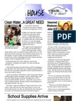House Of Friends Newsletter March 2010