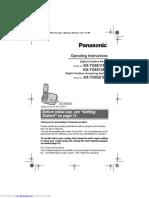 Panasonic Kxtg6511fx