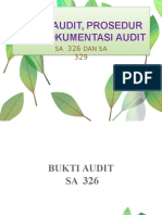 Bukti Audit, Prosedur, dan Dokumentasi Audit