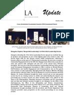 LGLA Update 2016 Forum 1