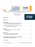 """Principal Dispositions Regarding the Ohio Teacher Evaluation System""""; """"Superintendent   Retirement in a Reform State"""