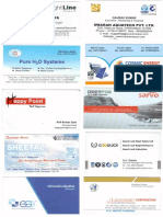 Aquatech India 11-13 August 2015 Visiting Cards