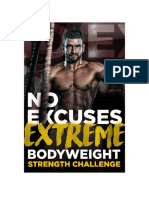 Extreme Bodyweight Strength Challenge