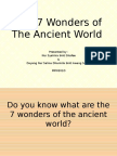 Presentation1 - The 7 Wonders of the Ancient World