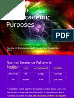English Sentence (1)