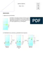 Práctic@ VI.- Cromatografía en Capa Fina