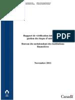Rapport de Vérification Interne-gestion Du Risque d'Entreprise