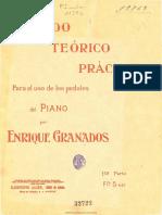 Granados, E. - Método Teórico Práctico Para El Uso de Los Pedales Del Piano
