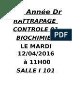 rattrapage biochimie med