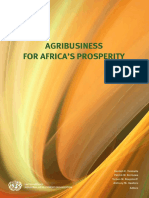 Agribusiness for Africas Prosperity E-book NEW