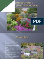 Herbaceous Plants 2010