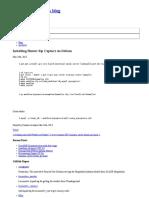 Installing Homer Sip Capture on Debian - Cristian Livadaru's Blog