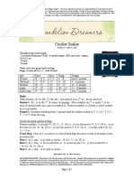 Dandelion Dreamers Crochet Soaker