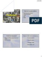 10. Methods of Production