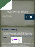 Mass Media Effects PPT