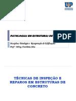 Patologias  REPAROS