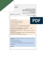 Carta Formal - Exemplo