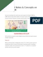Ssc HCF & LCM Shortcuts