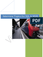 Interview Topics on SQL