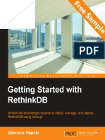 Getting Started with RethinkDB - Sample Chapter