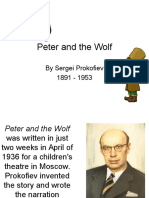 Peter and the Wolf Characters