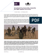 Mali - Position Paper – 19 February 2016