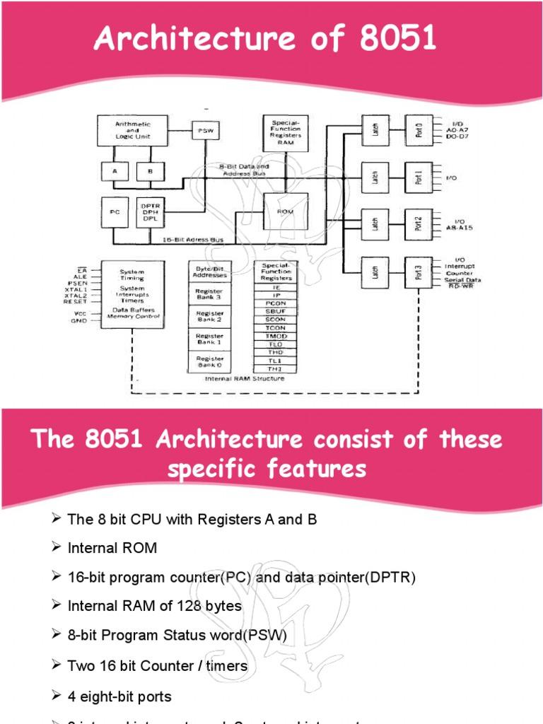 8051ppt Computer Architecture Electronic Design Player Quiz Buzzer Circuit Diagram