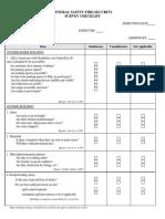 Master Inspection Form