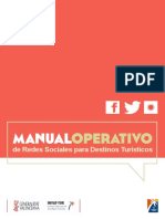Manual Operativo de Redes Sociales Para Destinos Turisticos
