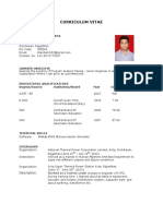 Original CURRICULUM VITAE Updated