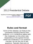 debate presidents