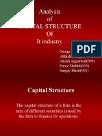 CApital Structure by Faraz Shahid