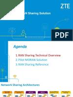 ZTE RAN Sharing Solution for Workshop V1.1