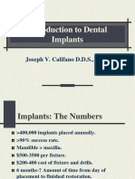 Introduction to Dental Implant