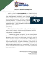 Análisis Crítico Bolivar