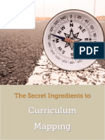 The Secret Ingredients to Curriculum Mapping
