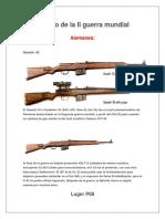 Armamento de La II Guerra Mundial