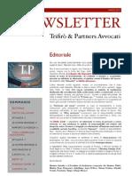 Newsletter T&P N°34