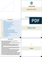 Kurikulum 2013 - Booklet
