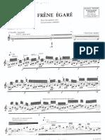 Francois Rosse - Le Frene Egare Pour Saxophone Alto.pdf