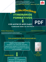 Itinerarios Formativos - Asociacionismo (Presentación)