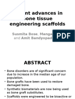 Recent Advances in Bone Tissue Engineering Scaffolds
