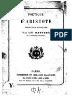 Aristote-Poètique [Batteux]