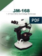 GM168 Gemological Microscope