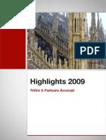 Highlights T&P 2009