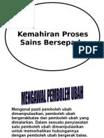 KPS Mengenal p Ubah Hipotesis Eksperimen