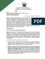 Resolución N° 000263-2016-JNE